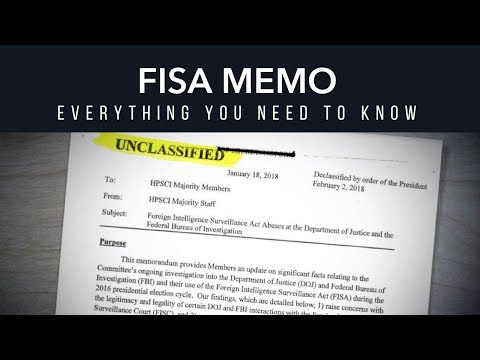 FISA Memo |