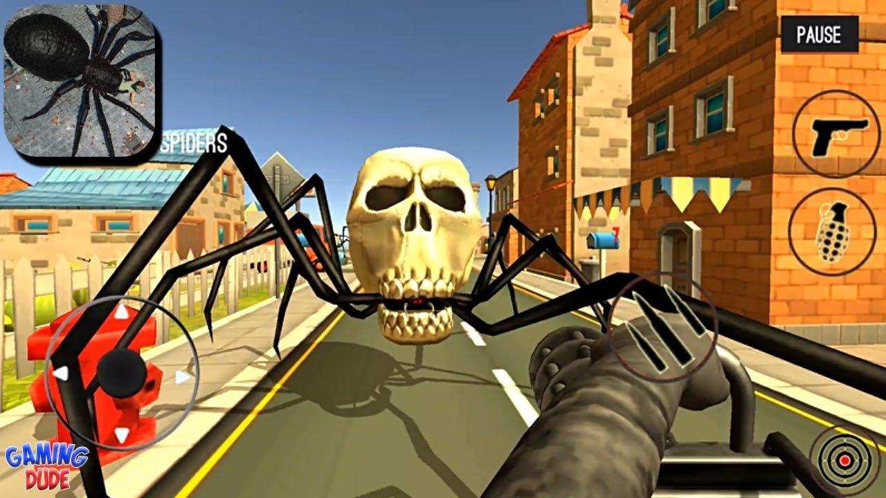 Spider Hunter Amazing City 3D – Minigun Levels | Gameplay Walkthrough | Android Gameplay HD