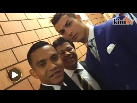 Faiz Subri says Christiano Ronaldo didn't speak much