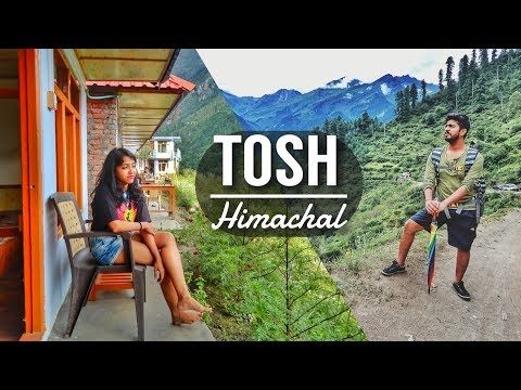 Tosh Village | Himachal Pradesh Tourism | Hotel room with a view in Cheap price #Travelvlog