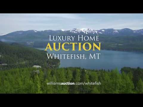 Luxury Whitefish, MT Home Auctions June 30