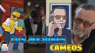 Los MEJORES homenajes y cameos de STAN LEE   QR