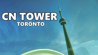 Cn Tower Toronto Canada 4k Youtube