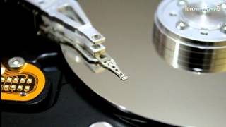 Internal parts of hard drive and their functioning