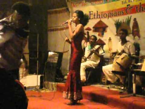 Tigist playing Hirut Bekele song