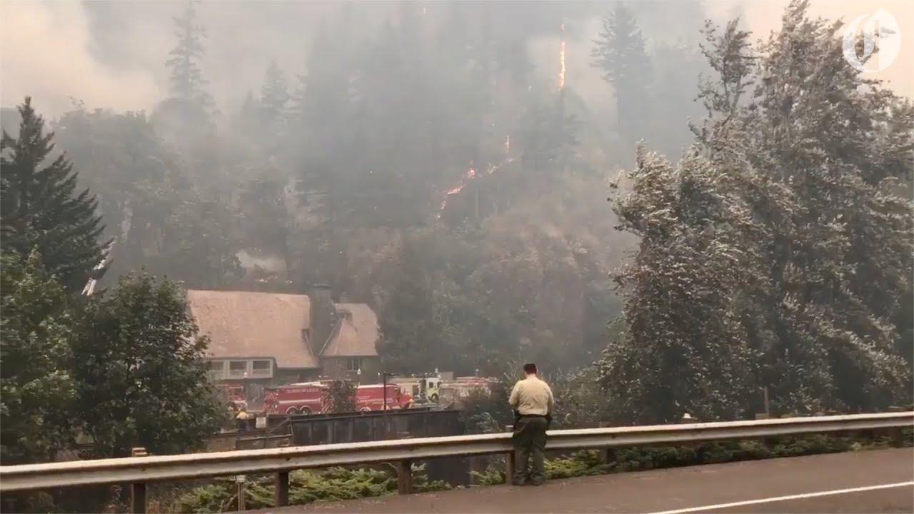 multnomah-falls-lodge-threatened-by-wildfire
