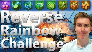 The Reverse Rainbow Perk Challenge.... Not Even Once (Origins: Black Ops 2 Zombies)