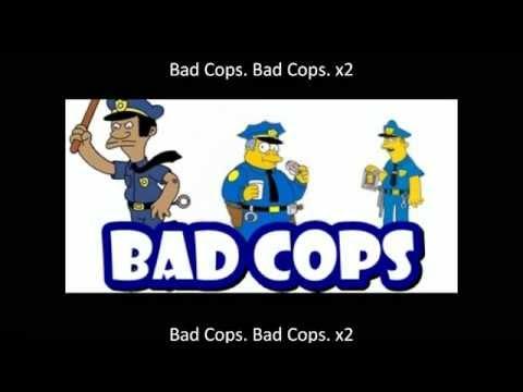 The Simpsons - Bad Cops (Song+Lyrics)