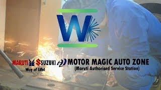 Motor Magic Auto Zone Ghaziabad Video Presentation - WebeVris