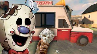 Смешное прохождение ЗЛОГО МОРОЖЕНЩИКА Каспер играет в Ice Scream: Horror Neighborhood