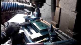 Лего станок.обработка поршня на фрезерном станке  для Лего станка(, 2015-02-07T16:24:26.000Z)
