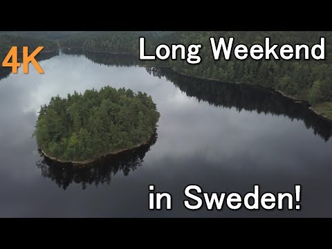 long weekend in Sweden with drone .