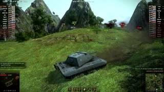 (PC) World of Tanks // E-100 vs. E-100 / Nice Match