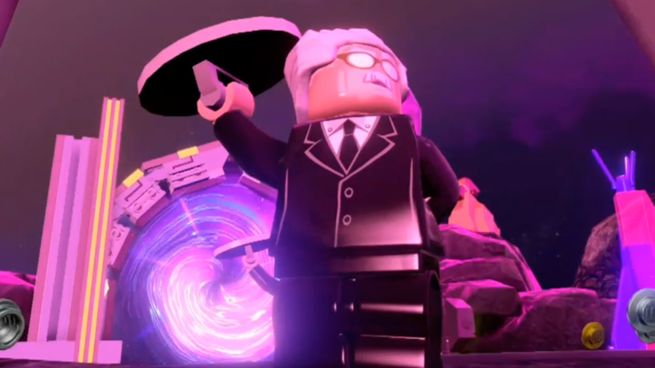 LEGO BATMAN 3 - ALFRED FREE ROAM GAMEPLAY - YouTube