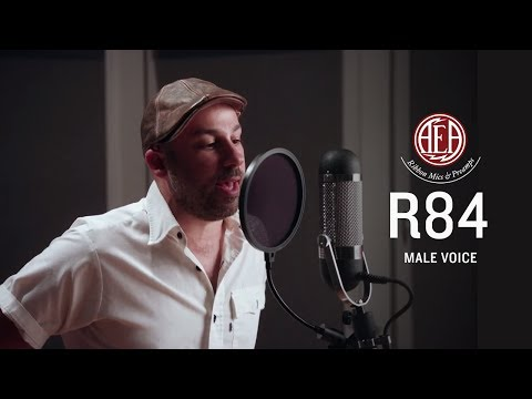 AEA R84 - Male Voice - Listening Library