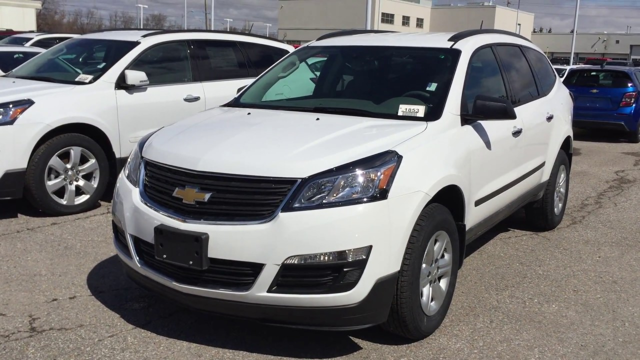 2017 Chevrolet Traverse Ls Summit White Roy Nichols Motors