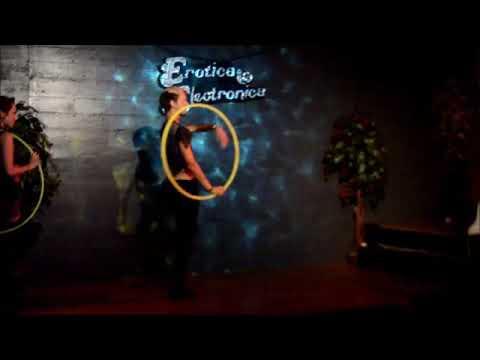 Hooptrip and The Hoop Healer performing Erotica Electronica