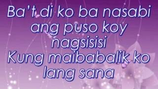 Repeat youtube video Ba't di ko ba nasabi - Krizza Neri Lyrics