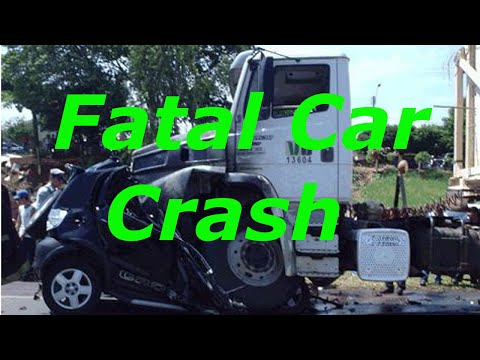 Fatal car crash in Elgin/Pingree grove IL aftermath