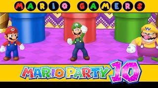 Mario Party 10 - Coin Challenge #1 (Mario, Luigi, Wario & Waluigi) - Multiplayer Mode
