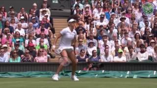 2016, Day 2 Highlights, Serena Williams vs Amra Sadikovic