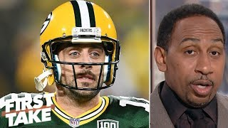 Stephen A.: Aaron Rodgers is the 'greatest, most-talented quarterback' of all time | First Take