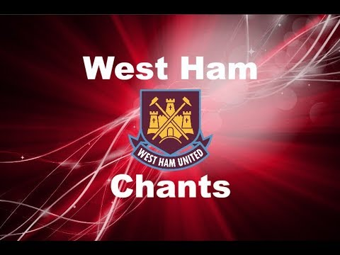 West Ham United's Best Football Chants Video | HD W/ Lyrics