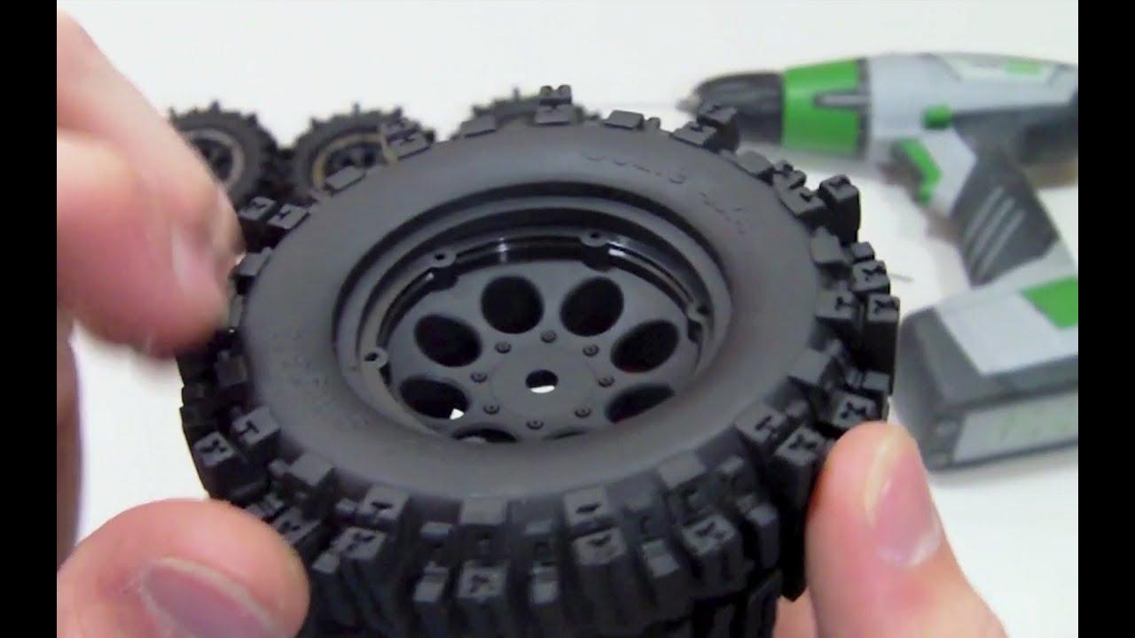 "Rock Crawler Wraith 4 Pro-Line 2756-15 FaultLine 2.2/"" Bead-Loc 10-Spoke Wheels"