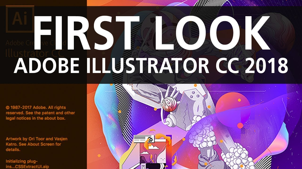 First look at Adobe Illustrator CC 2018 New Features - YouTube