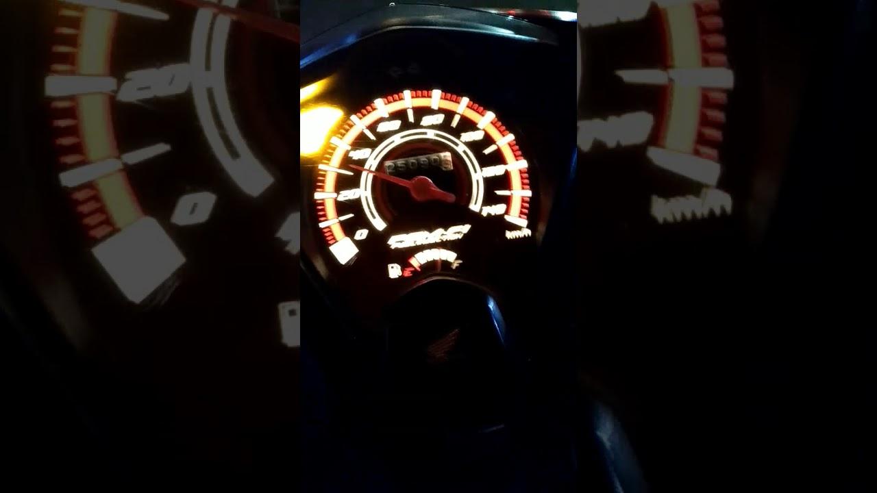 Lampu Indikator Honda Beat Fi Menyala Dan Berkedip 7 Kali Youtube