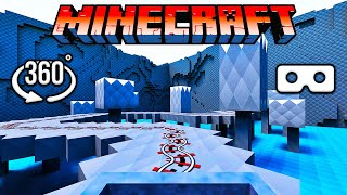 Tàu Lượn Siêu Tốc Minecraft 360° Thực Tế Ảo Sẽ Khiến Não Bạn Choáng Váng