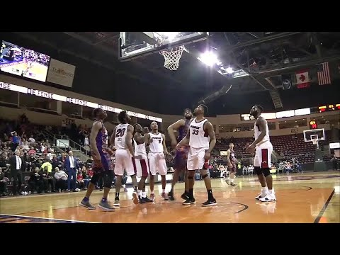 Alan Williams Posts 25 points & 12 rebounds vs. Sioux Falls Skyforce