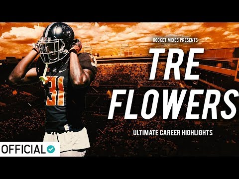 Oklahoma State Safety Tre Flowers - Official Career Highlights