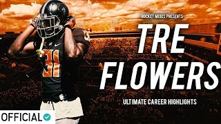 Oklahoma State Safety Tre Flowers - Official Junior Highlights
