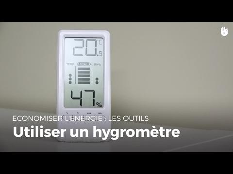 Comment utiliser un hygromètre ? | Réduire ses factures d'énergie
