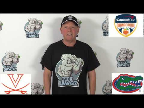 Florida vs Virginia 12/30/19 Free College Football Pick and Prediction: Orange Bowl