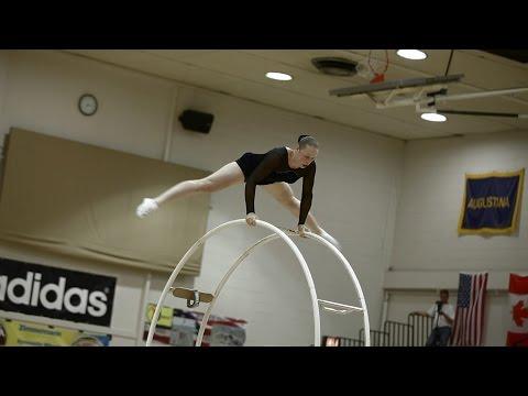 WC 2013 in Wheel Gymnastic Team Netherland Myrna van Berkel Musik Kür