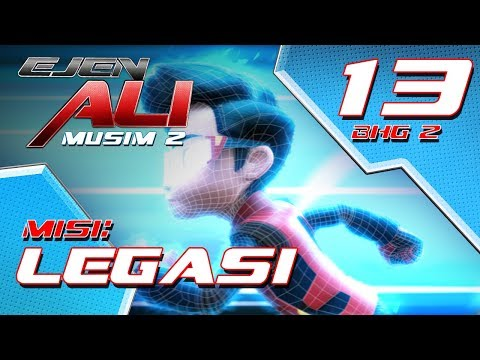 Ejen Ali Musim 2 (EP13) - Misi : Legasi [Bahagian 2]
