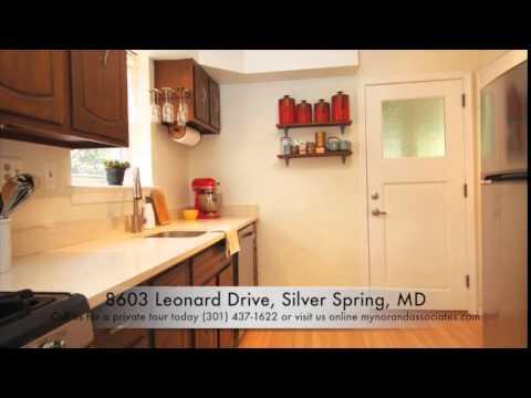 8603 Leonard Drive Silver Spring, MD 20910