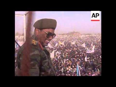 SUDAN: KALAKELA: OMAR EL-BASHIR VISIT