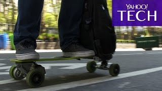 Movpak: The Electric Skateboard Of The Future