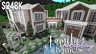 Family Roleplay Home   Roblox Bloxburg   GamingwithV