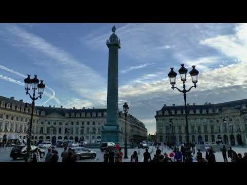 Paris France  Place Vendôme