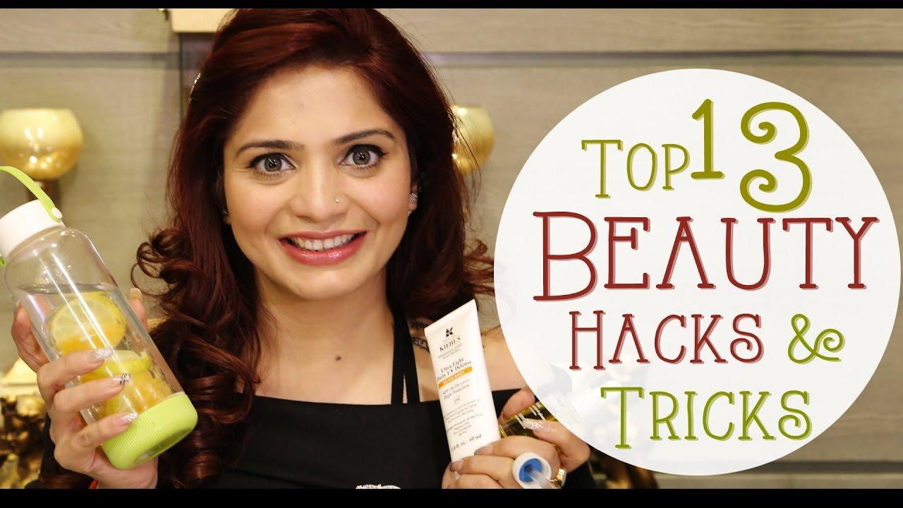 Top 13 Beauty Hacks & Tricks | Make Up Hacks for Girls | Krushhh by Konica