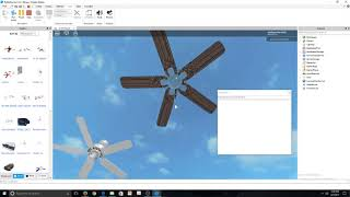 ROBLOX: 1991 Hunter Infiniti Ceiling Fan (720p HD Remake)