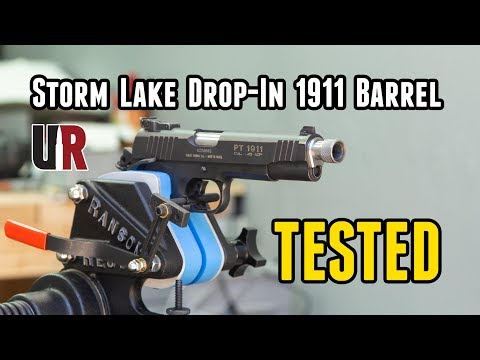 Tested: Storm Lake 1911 Drop-In Barrel (Suppressor Ready