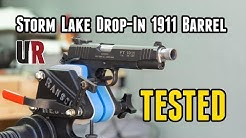 Tested: Storm Lake 1911 Drop-In Barrel (Suppressor Ready)