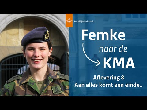 Femke naar de KMA - Afl. 8 Aan alles komt een einde..