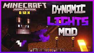 Dynamic Lights MOD PARA MINECRAFT PE 0.12.2 | Mods Para Minecraft PE 0.12.2