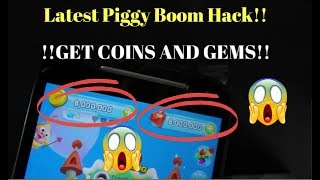 Piggy Boom Hack for Android and iOS! Get coin and gems patcher 100% working LATEST 2018! screenshot 2